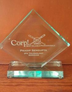 Corp! MVP Award